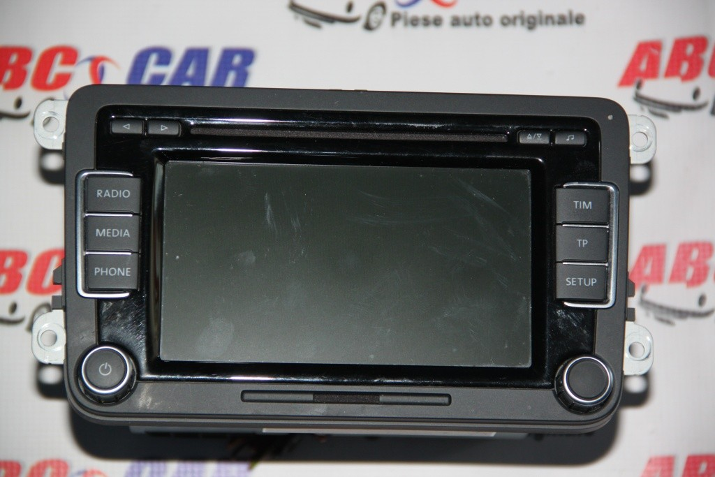 Radio RCD 510 VW Golf 6 cod: 3C8035195F model 2011