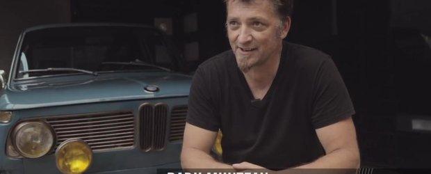 Radu Muntean, romanul cu BMW 2002 de la Petrolicious