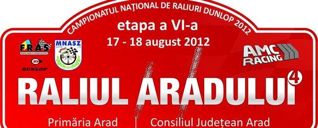 Raliul Aradului gata de start!