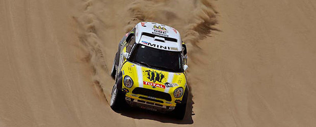 Raliul Dakar 2013: Etapa a 5-a a fost castigata de Nani Roma