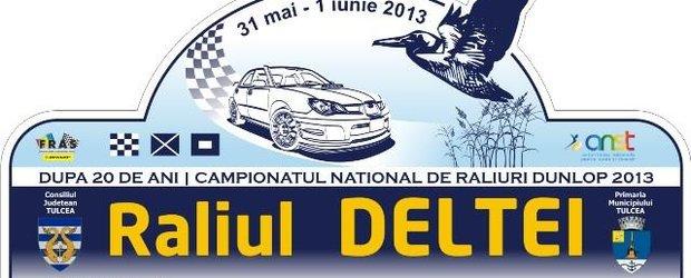 Raliul Deltei revine in Campionatul National de Raliuri dupa o pauza de 20 de ani