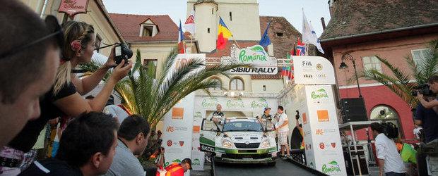 Raliul Sibiului 2012: Spectacolul a inceput