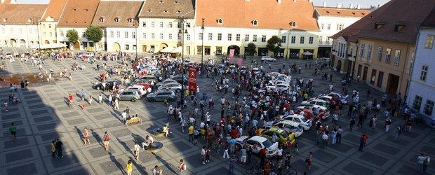 Raliul Sibiului incepe in Piata Mare