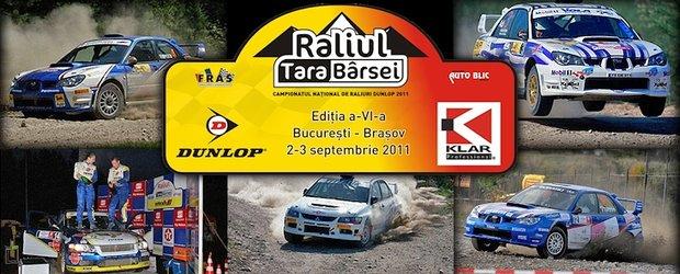 Raliul Tara Barsei 2011: cei mai buni pe macadam vin la Brasov