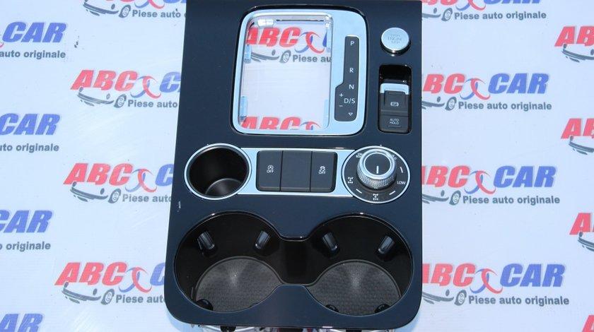 Rama consola centrala (anglia) VW Touareg 7P cod: 7P2863216 model 2014