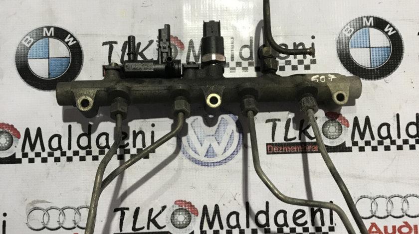 Rampa injectoare cu senzor Peugeot 607 2.2HDI 0445214017