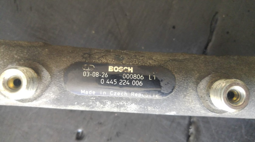 Rampa injectoare fiat ducato 2.3 jtd euro 3 0445224006
