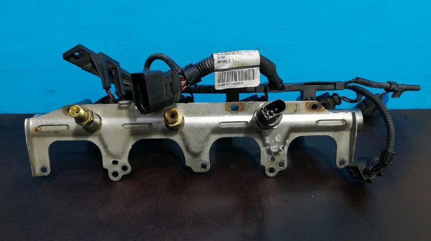 Rampa injectoare + Injectoare Audi 2.0 TFSI BWA 06F133317,06D133036D