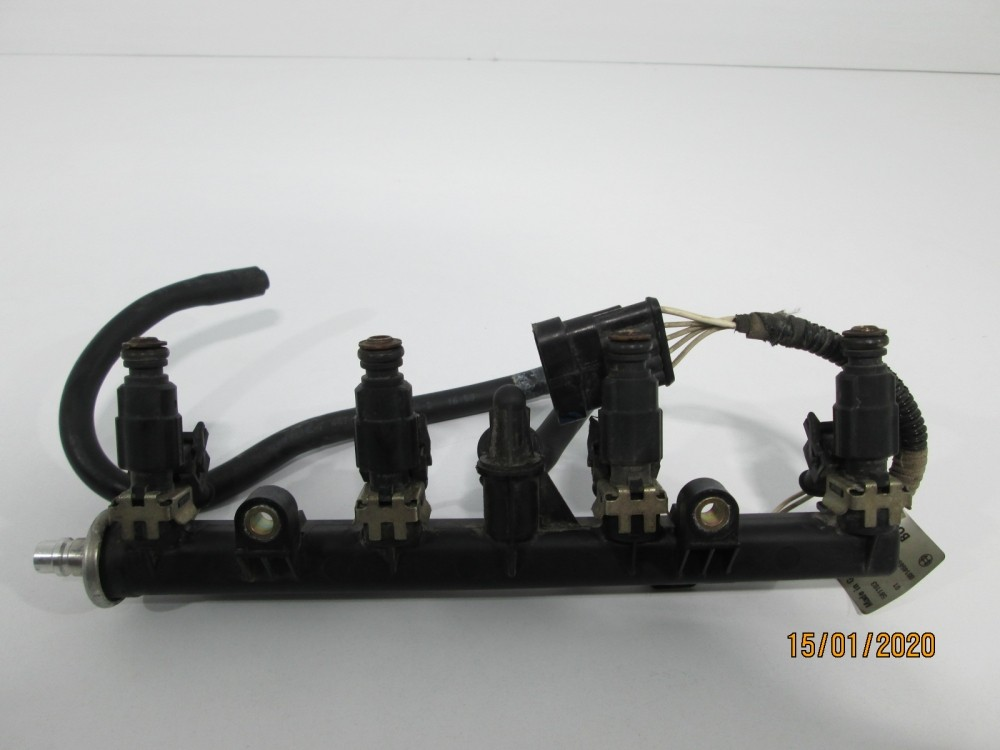 Rampa injectoare + injectoare Fiat Punto an 2002-2007 cod 0280051