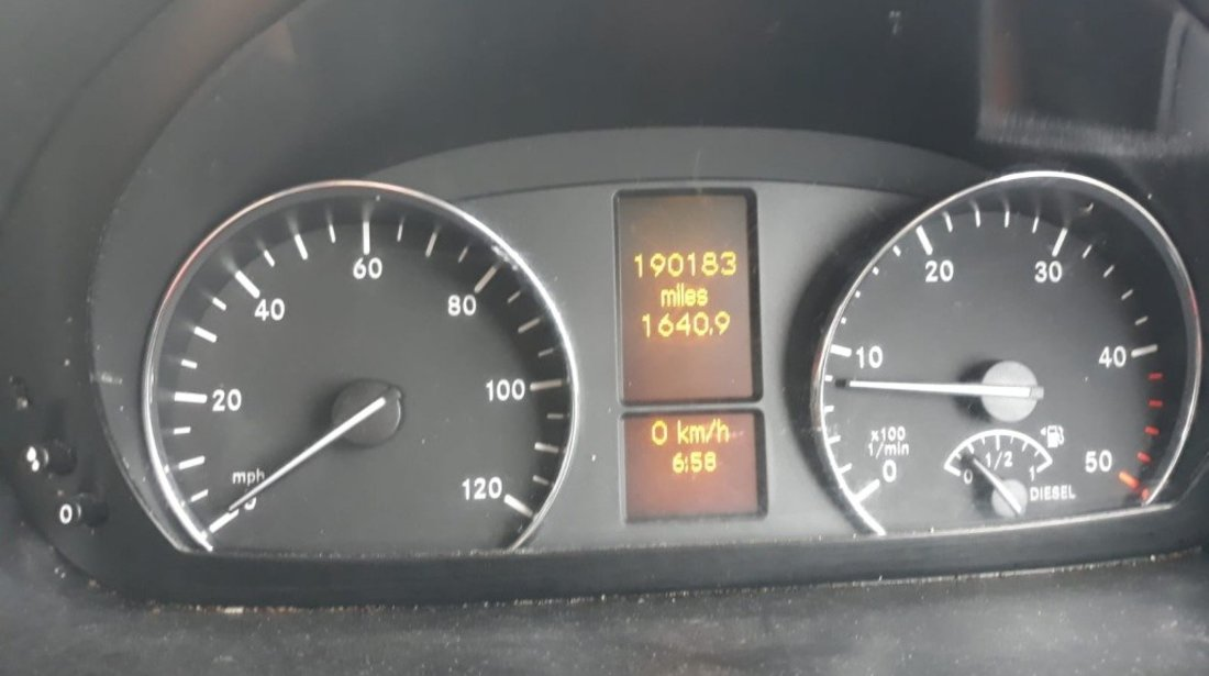 Rampa injectoare Mercedes Sprinter 906 2014 duba 2.2 CDI