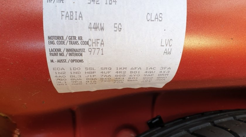 Rampa injectoare Skoda Fabia II 2010 Hatchback 1.2HTP 44kw