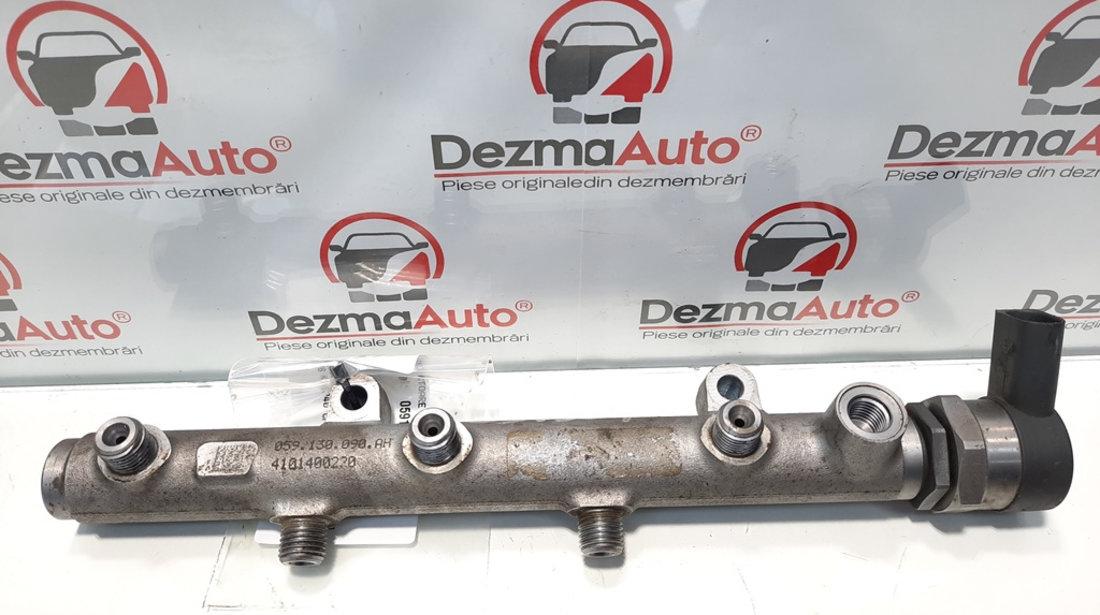 Rampa injector dreapta cu senzor, Audi A4 (8K2, B8) [Fabr 2008-2015] 3.0 tdi, CCWA, 059130090AH (id:426760 )