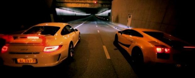 Randevu in Paris: Porsche 911 GT3 versus Lamborghini Gallardo Superleggera