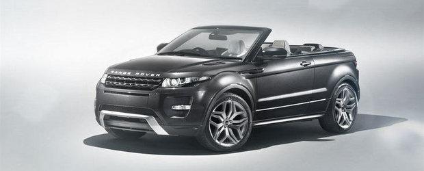 Range Rover aduce la Geneva un Evoque fara acoperis