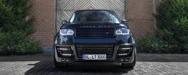 Range Rover by LUMMA Design: Tratament cu piele, carbon si Alcantara