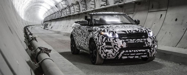 Range Rover confirma: Evoque Convertible soseste la vanzare in 2016!