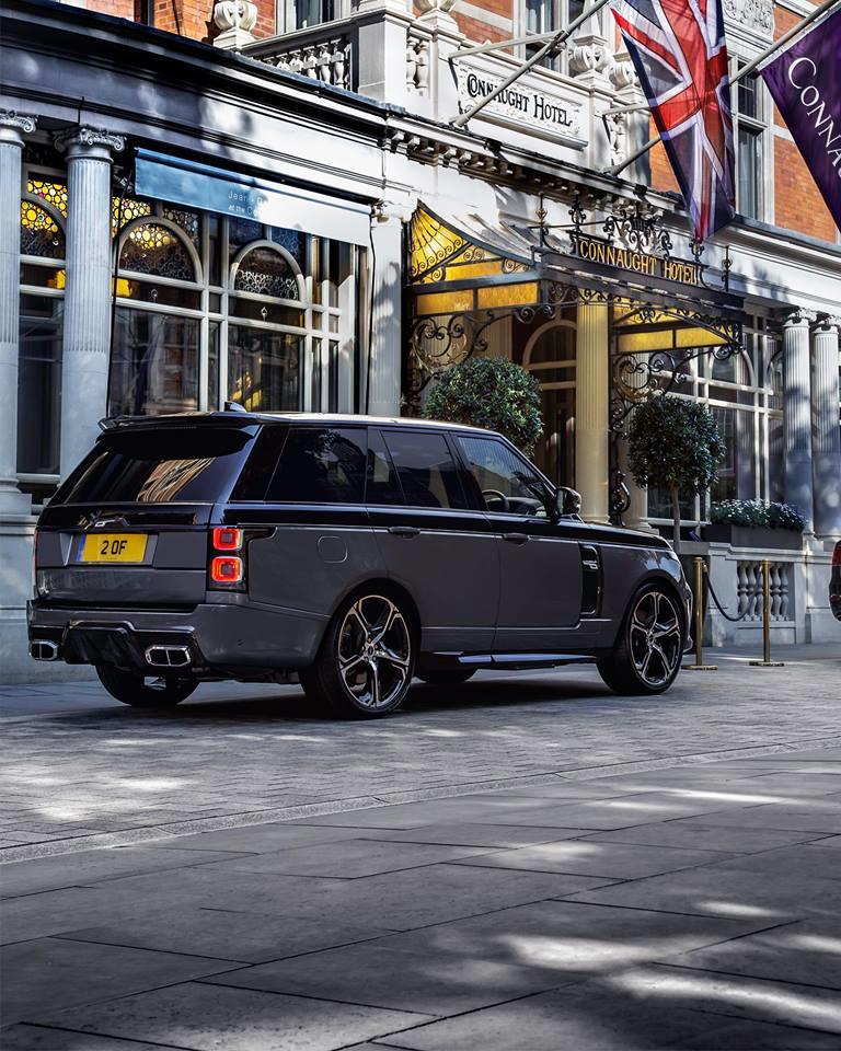 Range Rover de la Overfinch - Range Rover de la Overfinch