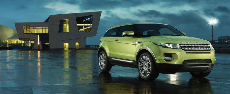 Range Rover Evoque a fost desemnat Cel mai 4x4 SUV Premium din Romania