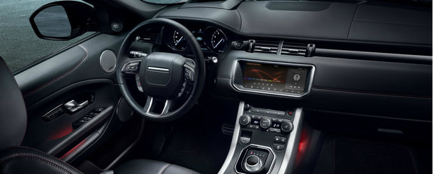 Range Rover Evoque se innoieste cu un display de 10.2 inch si o editie speciala pe nume Ember