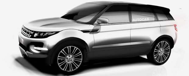 Range Rover Evoque va primi o versiune XL in 2016
