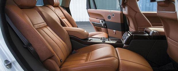 Range Rover LWB: Cum arata cel mai luxos SUV din lume