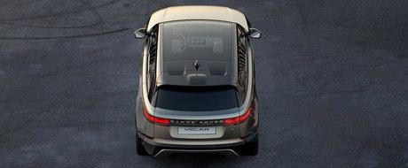 Range Rover prezinta noul Velar ca un rival pentru BMW X4 si X6