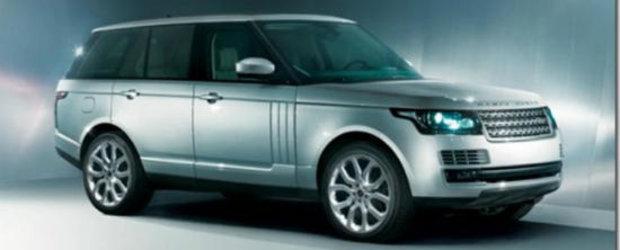 Range Rover - Primele imagini cu noua generatie!
