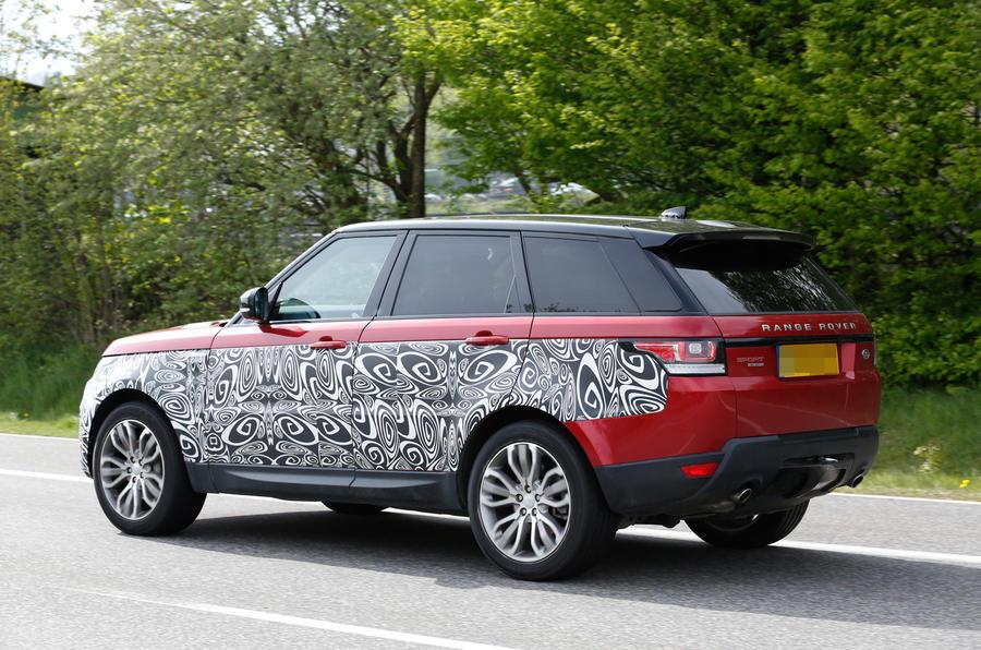 Range Rover Sport Facelift - Poze spion - Range Rover Sport Facelift - Poze spion