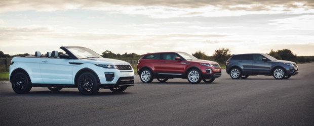Range Rover-ul Evoque implineste 5 ani de productie in Marea Britanie