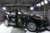 Range Rover Velar la Euro NCAP