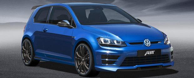 Rapid ca un Porsche 911: Noul VW Golf R primeste tratamentul ABT