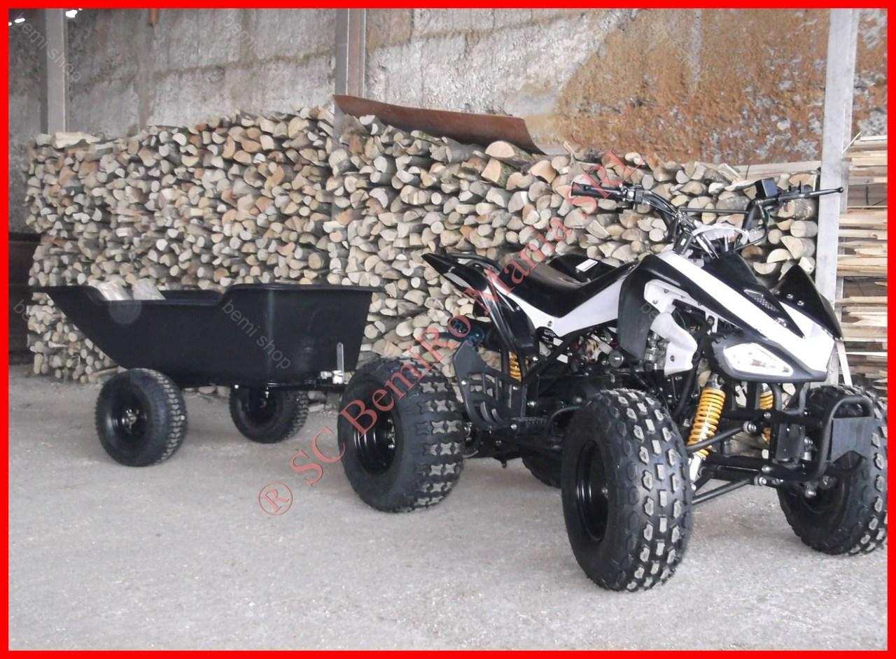 Raptor BEMI 7 sau 8 de 125cc automat cu Casca si Livrare 24 h