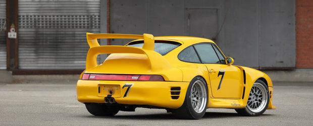 Rar gasesti unul de vanzare. Porsche-ul tunat de RUF are peste 700 CP si costa o avere