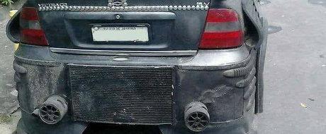 """Rar ne-a fost dat sa vedem o hidosenie mai mare. Acest Opel Vectra castiga titlul de """"Tigaia anului"""""""