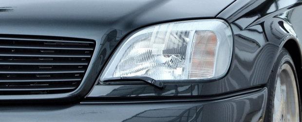 Rar se intampla sa gasesti unul de vanzare. Mercedes-ul din 1993 are motor V12 de 6.9 litri