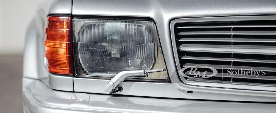 Rar se intampla sa gasesti unul de vanzare. Mercedes-ul din '88 are motor V8 de 6.0 litri