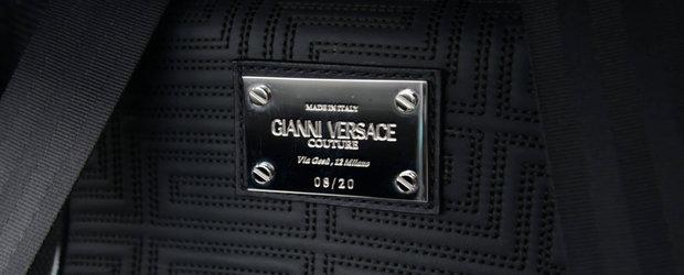 Rar se-ntampla sa gasesti una de cumparat. Supermasina din 2008 are interior Versace si motor V12 aspirat