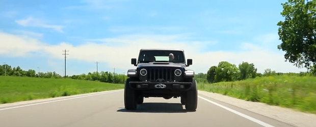 Raspuns la noul Ford Bronco. Jeep prezinta un Wrangler cu V8 si 456 CP, perfect pentru off-road