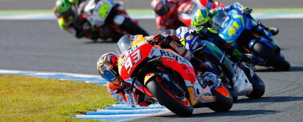 Rasturnare de situatie in Japonia. Rossi cade iar Marc Marquez castiga al treilea titlu mondial din cariera