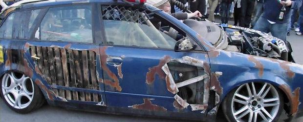 Rat Style dus la extrem sau cum sa iti bati joc de un Audi A4 Avant