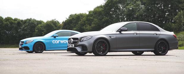 Razboi in familia Mercedes-AMG! C63-ul S pierde fara drept de apel in fata sedan-ului E63 S