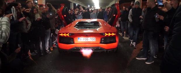 Reactia mai multor pasionati de tuning la aparitia unui Lamborghini Aventador