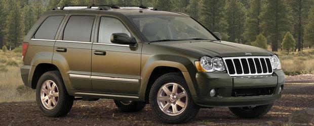 Recall de aproape 470.000 de SUV-uri Jeep pentru probleme la cutia de viteze