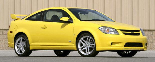 Recall General Motors: Sunt vizate peste 40.000 de unitati Chevrolet si Pontiac