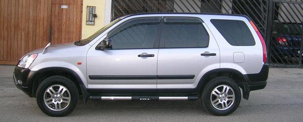 Recall Honda in Romania: Sunt vizate 651 de exemplare Honda CR-V