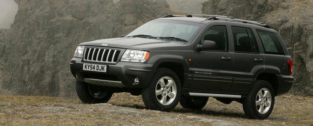 Recall Jeep: Sunt vizate 900.000 de unitati Grand Cherokee si Liberty