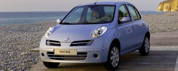Recall masiv Nissan Micra si Cube pentru niste suruburi