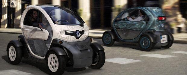 Recall Renault: Sunt vizate 8.000 de unitati Twizy