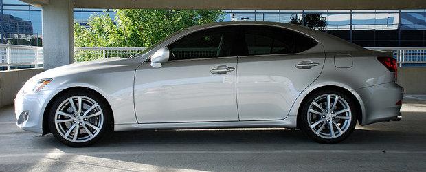 Recall Toyota in Romania: Sunt rechemate in service peste 150 unitati Lexus IS