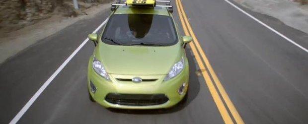 Reclama Ford Fiesta: surferul